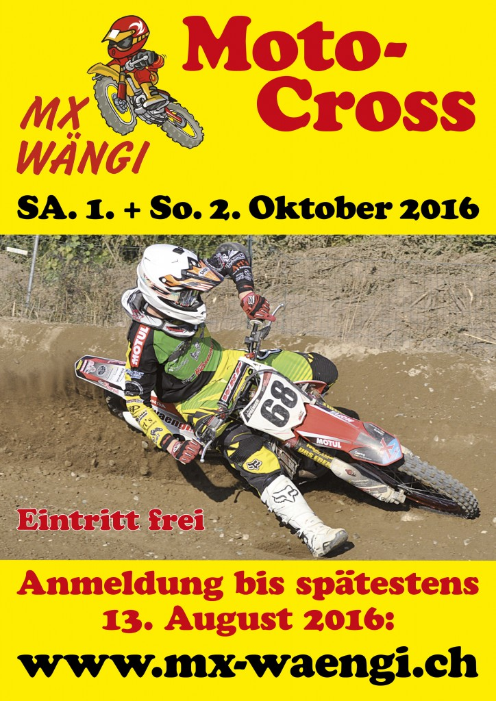 Plakat Anmeldung 2016